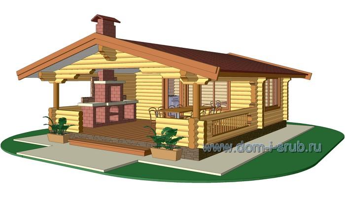 Проект |деревянный загородный